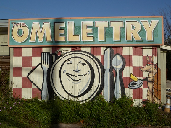 The Omelettry restaurant in Austin, Texas