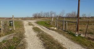 Cattle Guard installation site