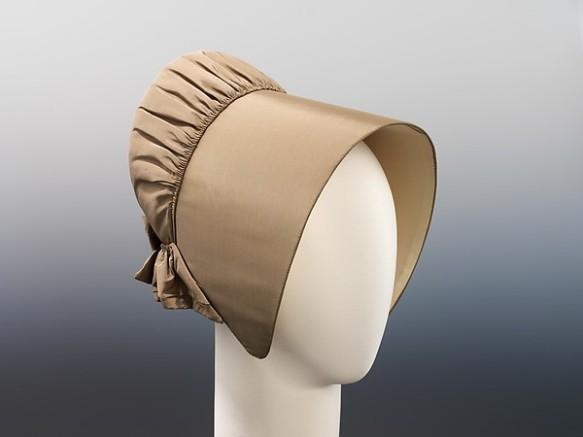 Quaker bonnet, ca. 1850