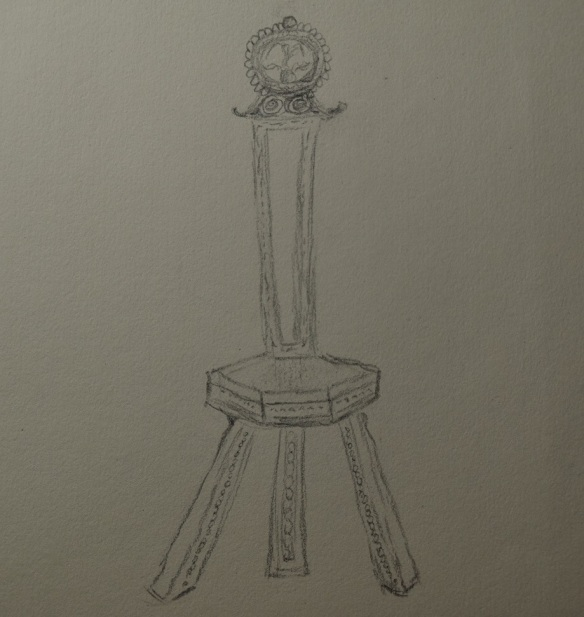 Sketch of the chair