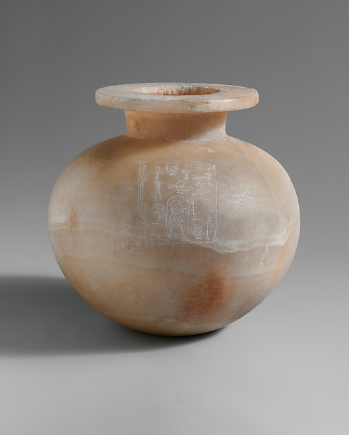 made from Travertine, circa 1492–1473 BCE, Egypt