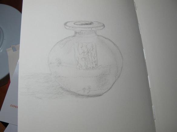 Sketch of the spherical jar