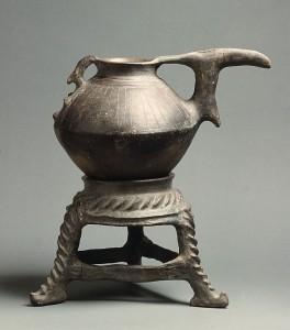 Ceramic; circa 9th century BCE; Iran, Hasanlu