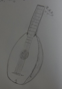 Sketch of the Lute