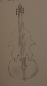 Sketch of the Viola d'Amore
