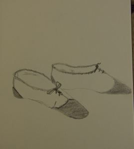 Sketch of the day shoes