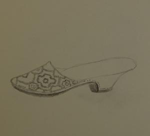 Sketch of the silk mule