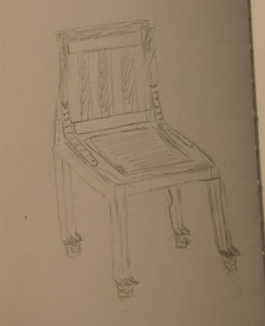 Sketch of Chair of Resineneb
