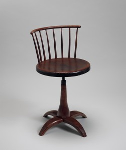 American, 1840-1870; Maple, white oak, pine, birch