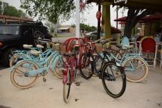 Bike Rack at Comfort Pizza