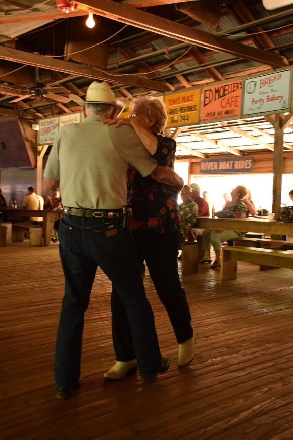 Dancing at Gruene Hall