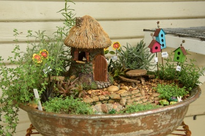 Fairy Garden at Miss Giddy's