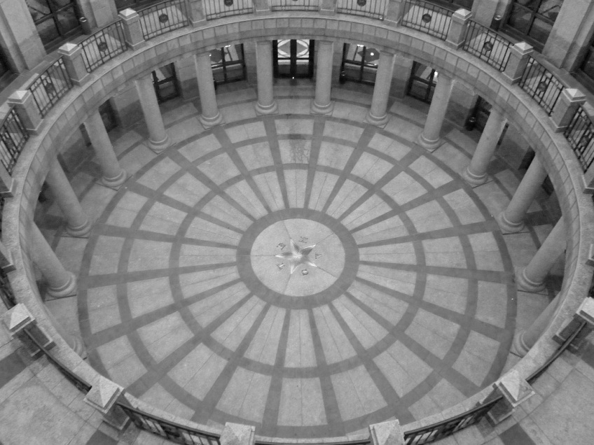 At the Texas Capitol building