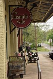 Tinsmith's Wife yarn and needlework shop