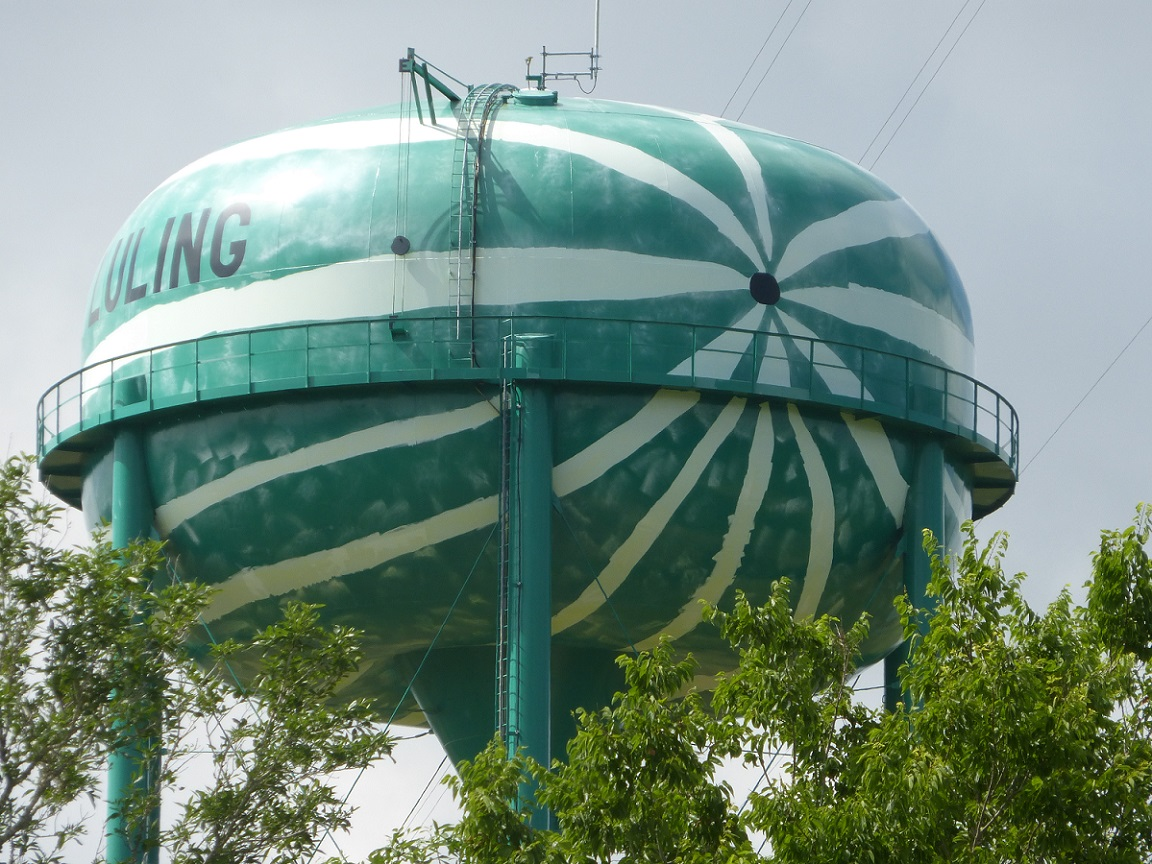 Luling's Watermelon Water Tower