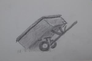 Wagon sketch