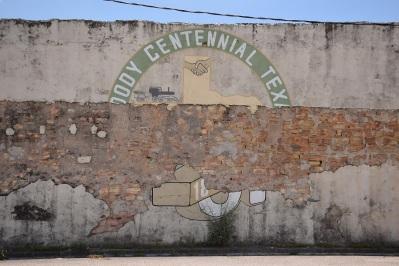 Moody Centennial mural