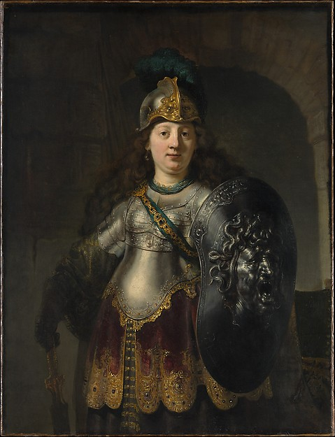 Bellona by Rembrandt, 1633