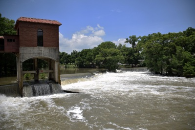 Guadalupe River at the Seguin Power Plant