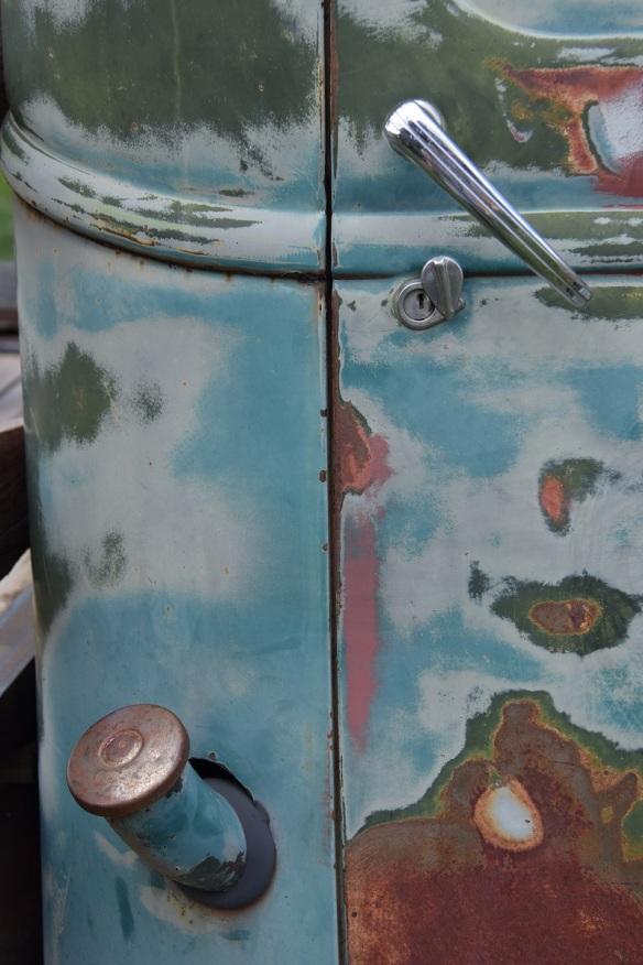 Old GMC Pickup in El Prado, New Mexico