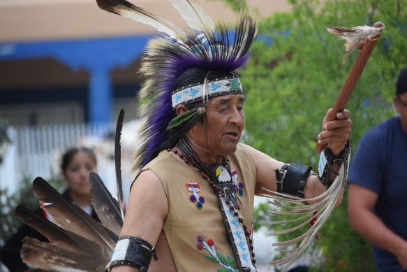 Native American dancing by the Mike Concha family