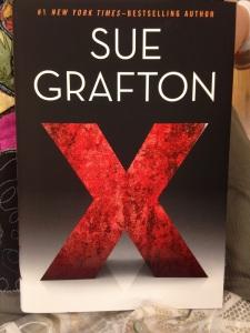 """Sue Grafton's latest book in her Kinsey Millhone """"alphabet"""" series"""