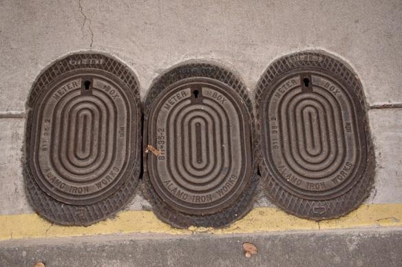 Alamo Iron Works meter box covers