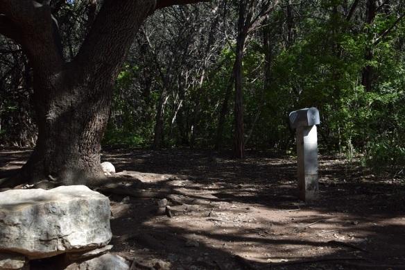 Mailbox on the Barton Creek Greenbelt trail