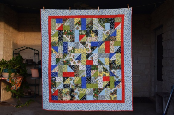 Quilt for Uncle Rod