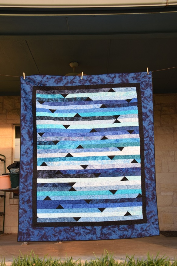 Quilt for Uncle Roger