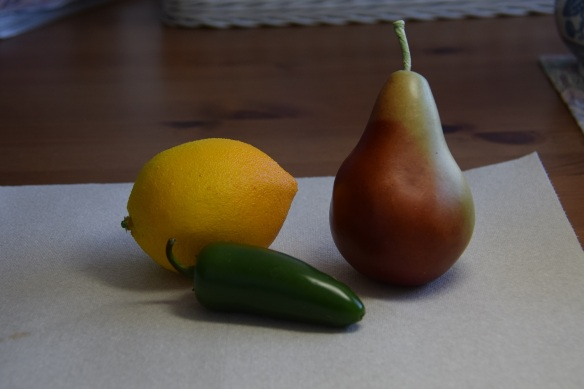 The subjects. Jalapenos are a fruit, botanically speaking.