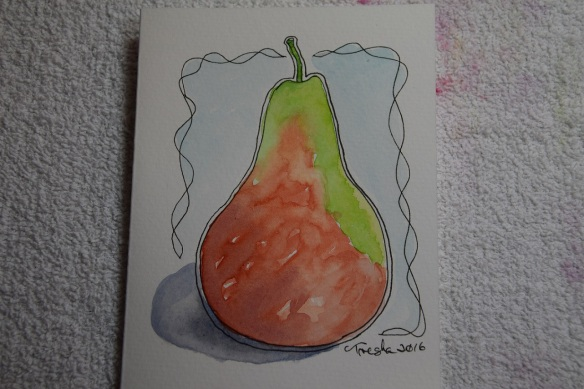 aa Pear Watercolor (2)s