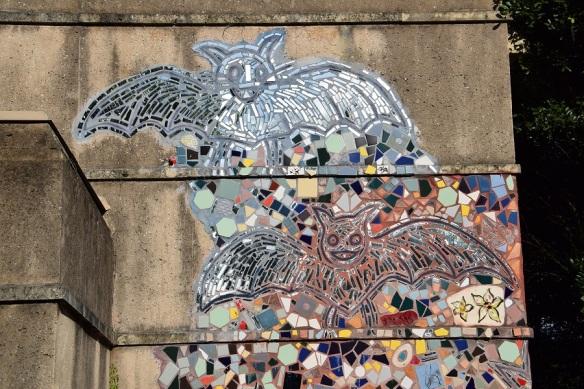 a Bat Mosaics s
