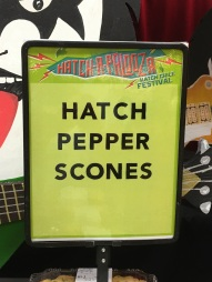 a Hatch Chile Scones s