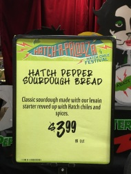 a Hatch Chile Sourdough Bread s