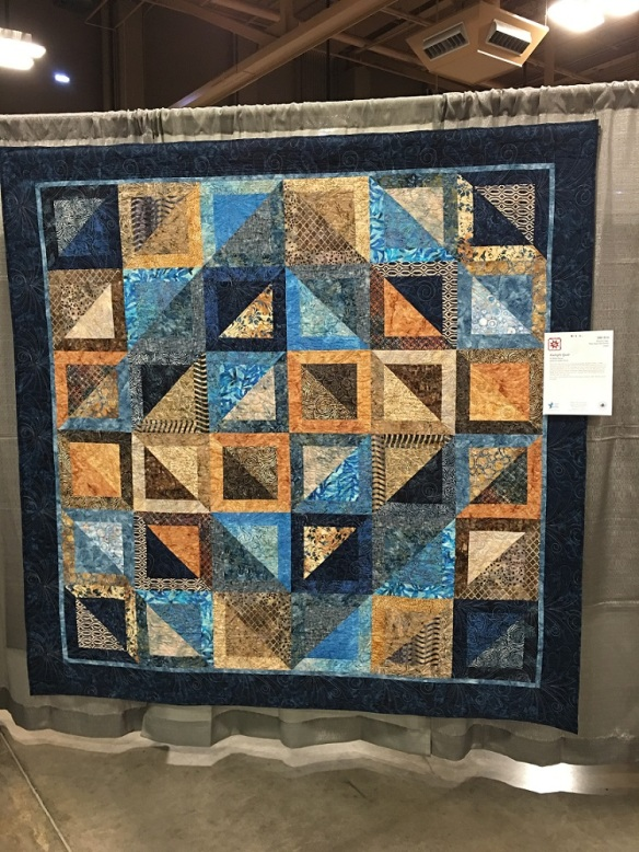 Kaleigh's Quilt by Althea Murray, quilting by Sandie Hirsch