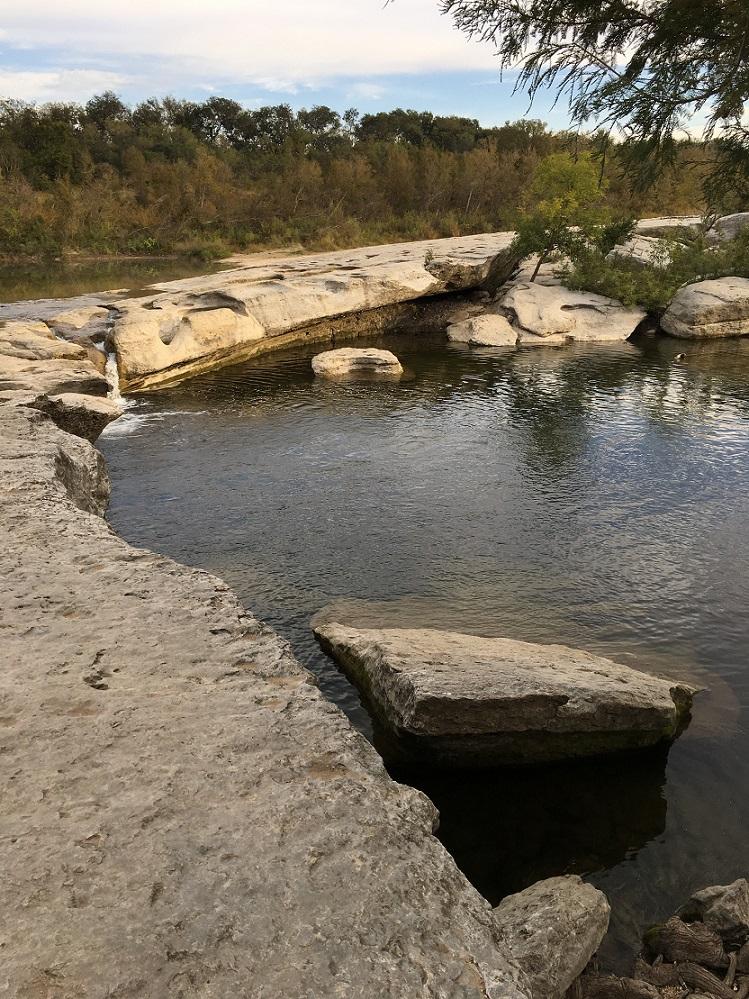 The Upper Falls in McKinney Falls State Park