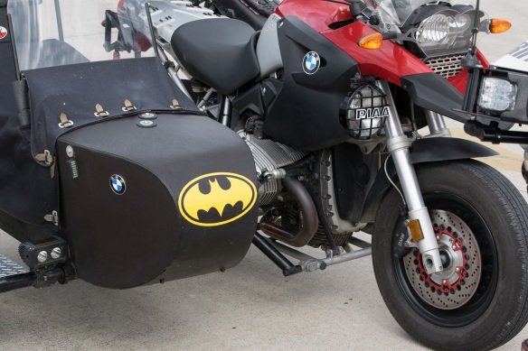 Batman sidecar
