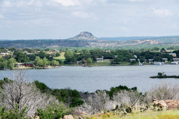Looking Across Inks Lake