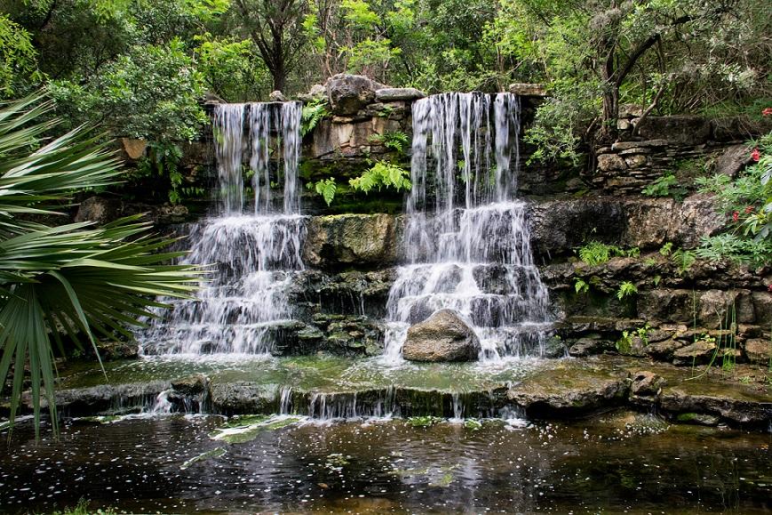 Waterfall at Zilker