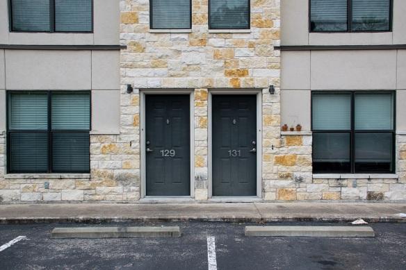 Door 129 and 131