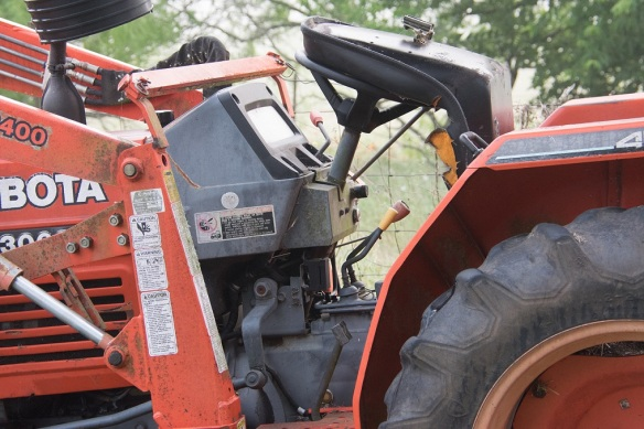 Tractor 1 before