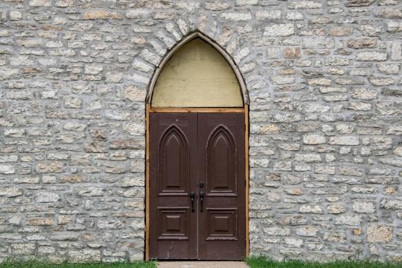 Door Old St Luke Episcopal Church (2)