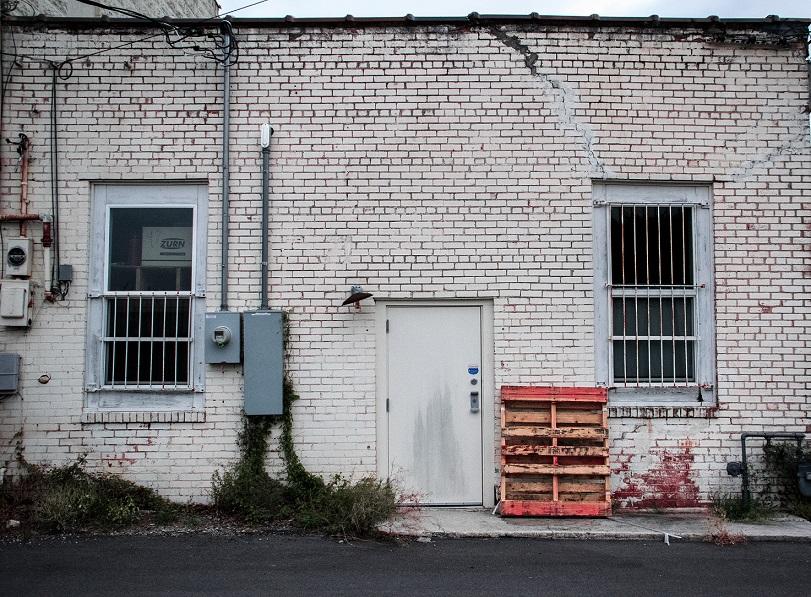 Alley door 1