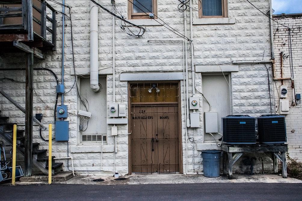 Alley door 2
