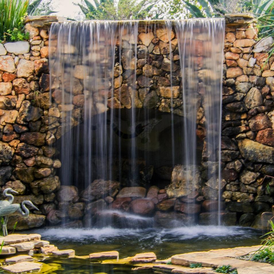 Waterfall Wildflower Center