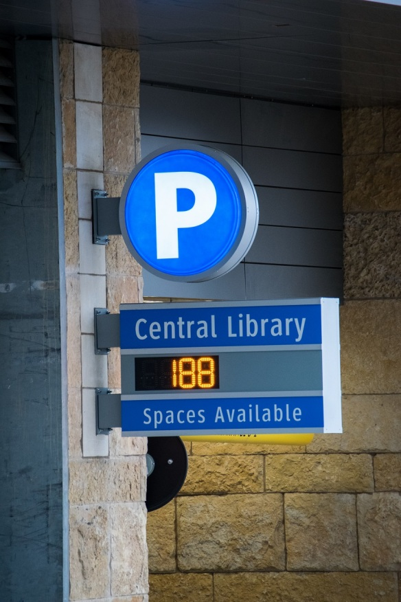 Central Library - Parking
