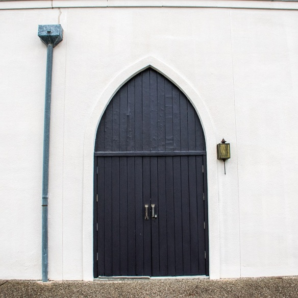 Door dark arched