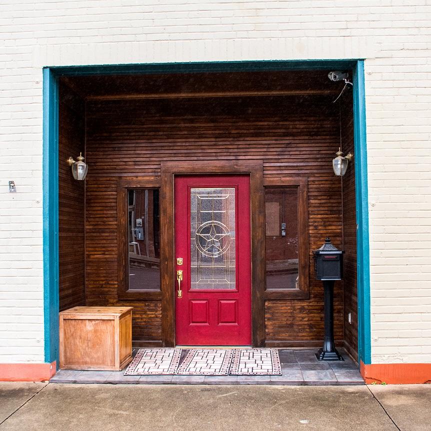 Door The Tin Shop (1)