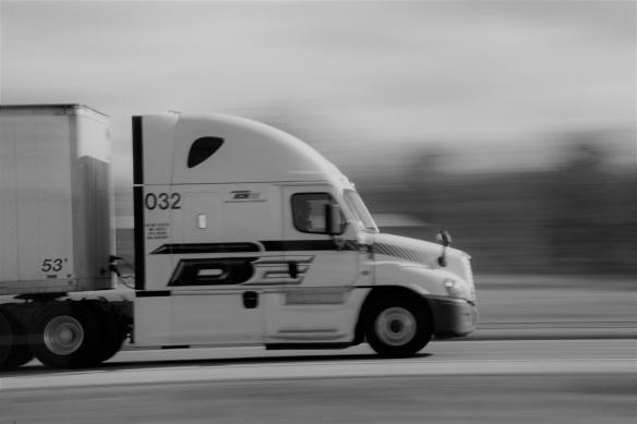 00s Truck B&W